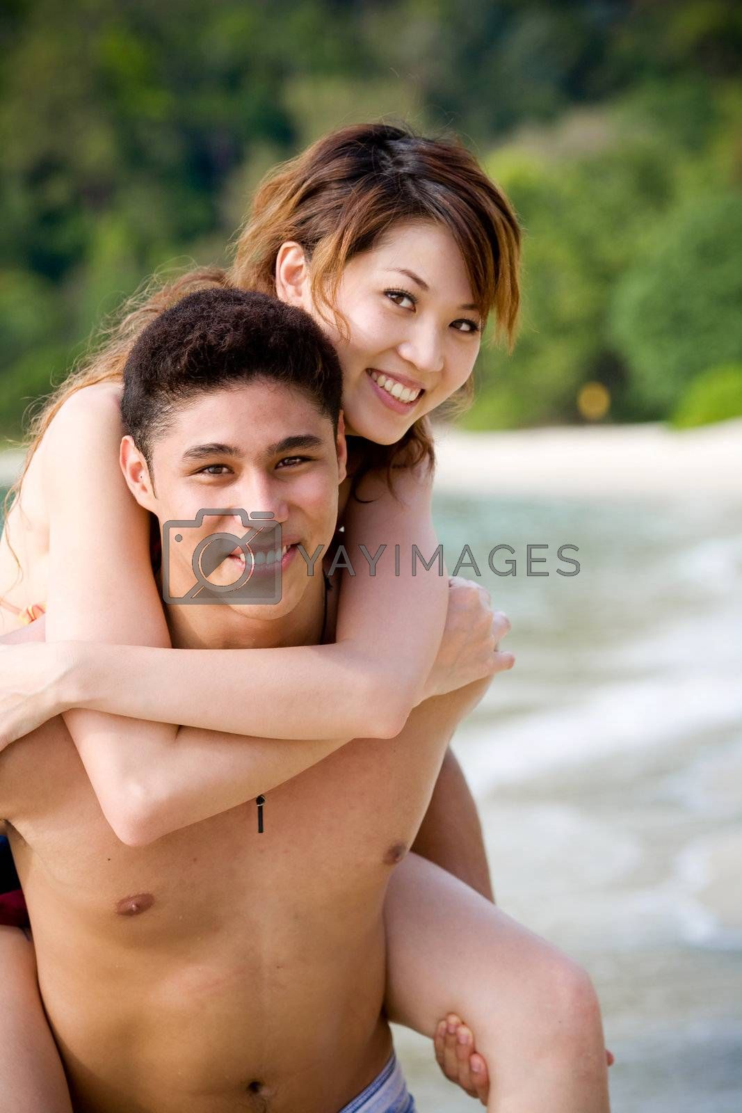 couple enjoying romantic time by eyedear