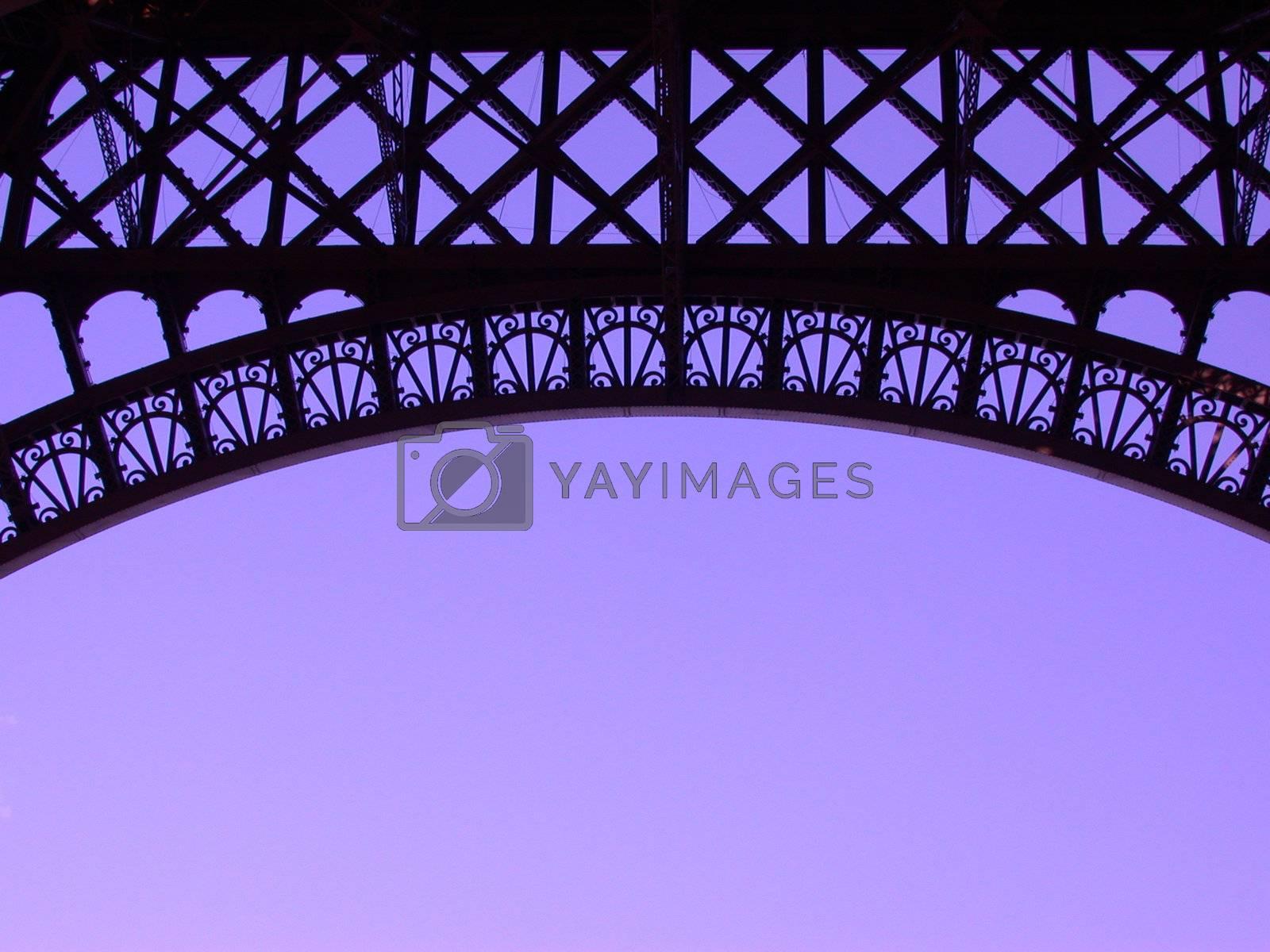 Eiffeltower by windmill