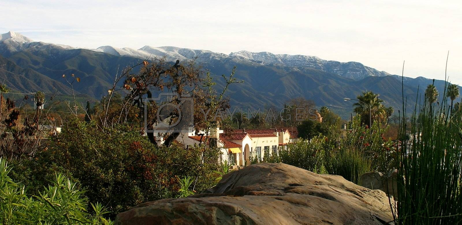 Ojai With Snow (4301) by hlehnerer