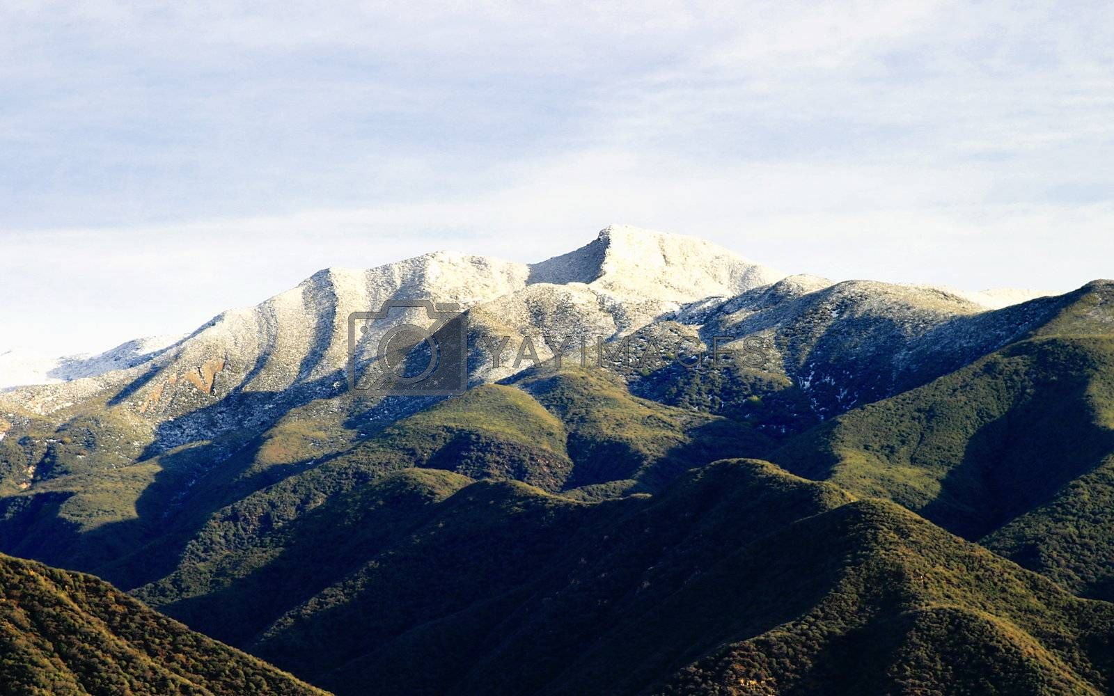 Ojai Valley With Snow (VIII) by hlehnerer