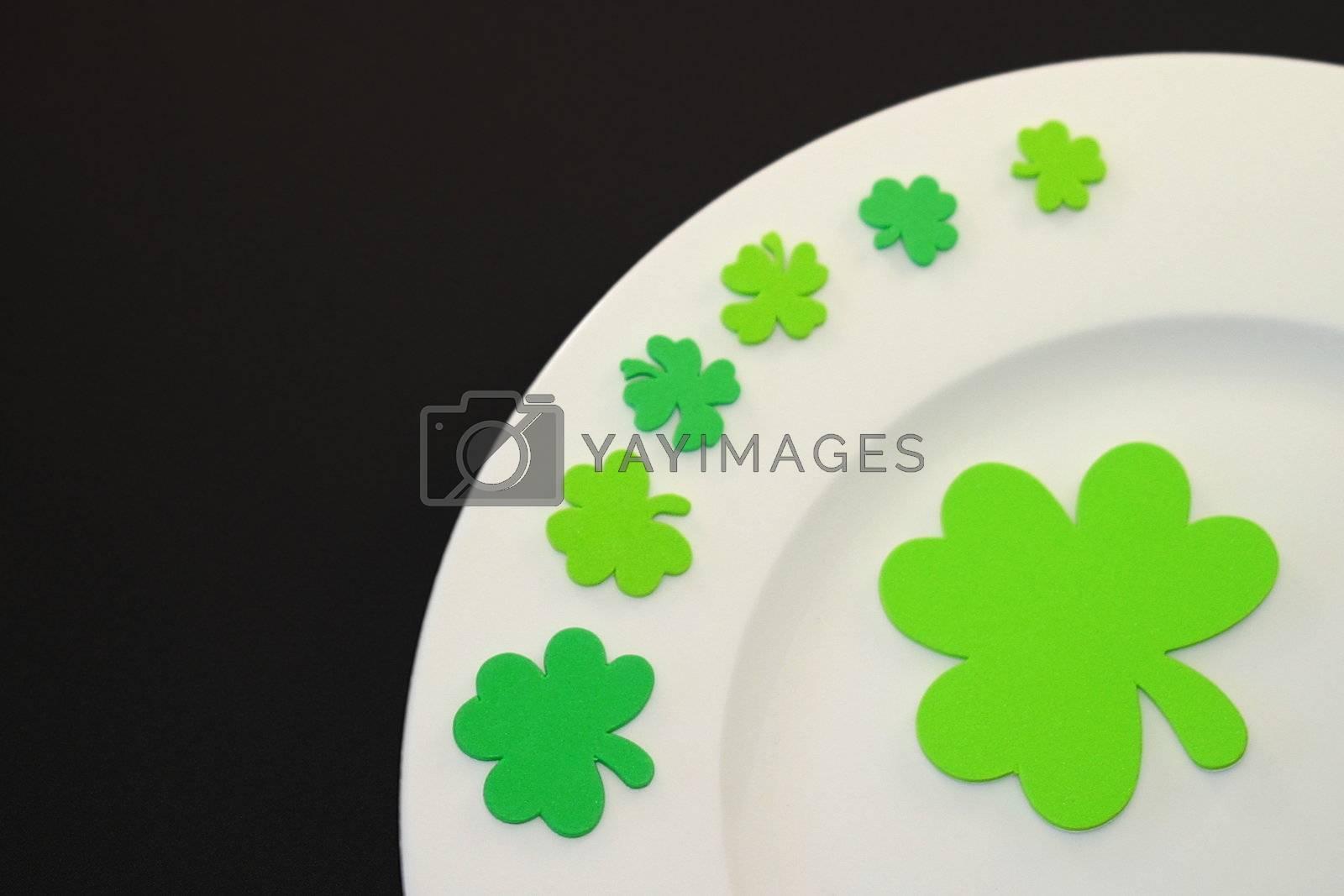 St. Patrick's Day Plate by hlehnerer