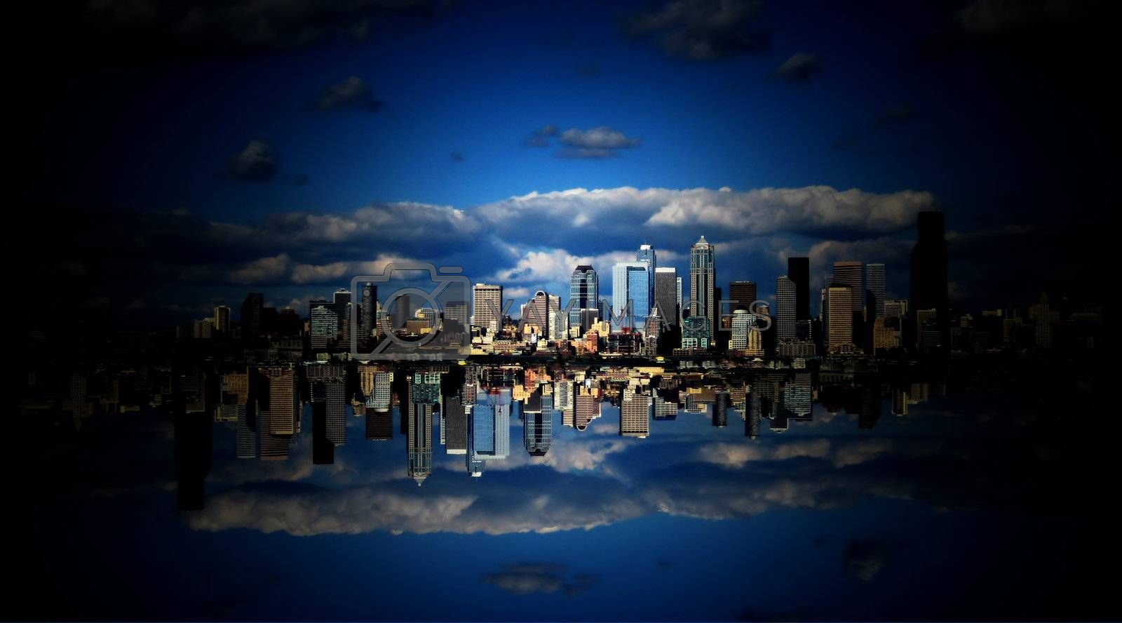 Sky City in the Clouds by mwp1969
