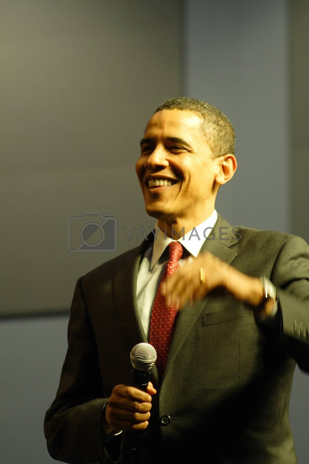 Barack Obama by dersankt