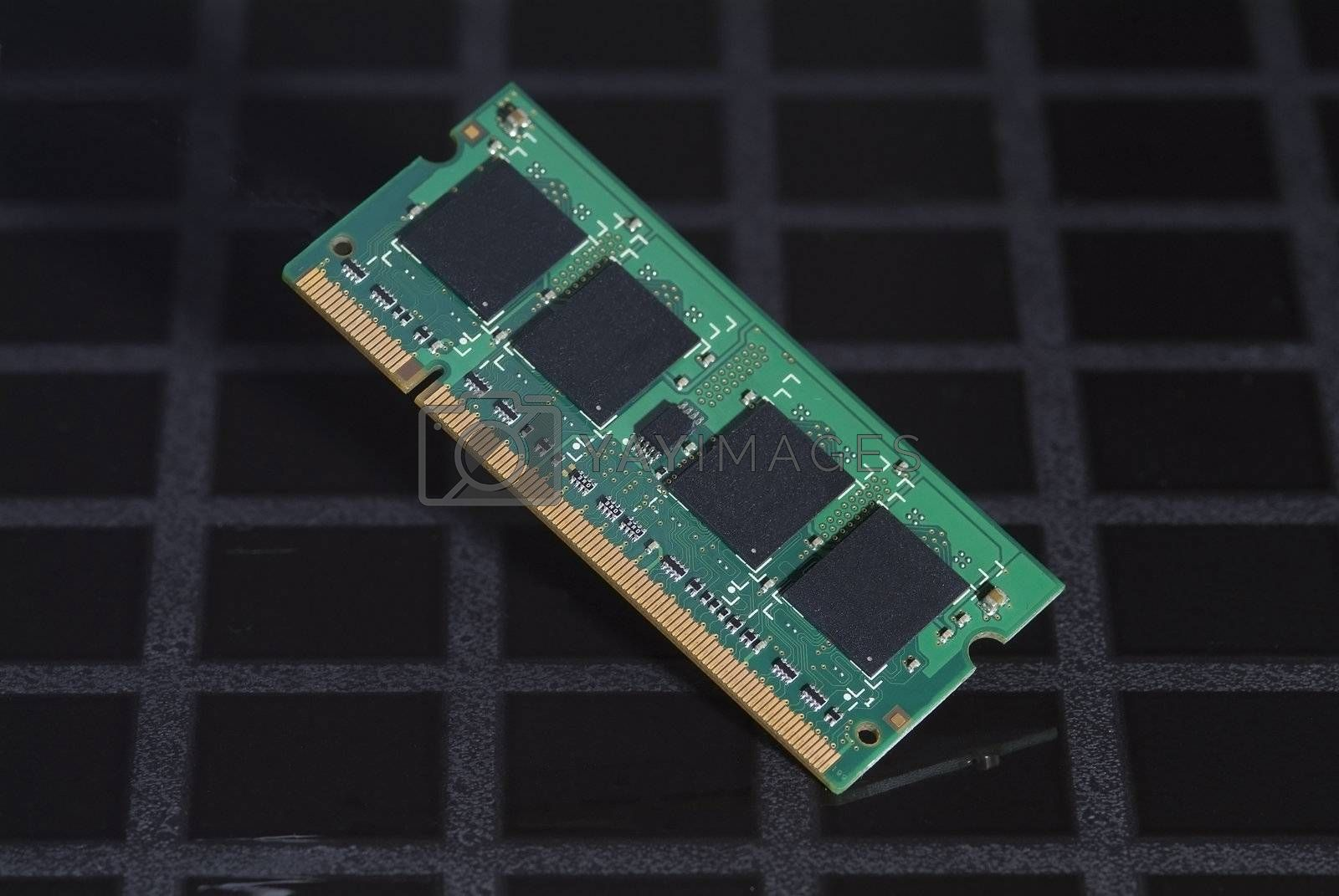 Computer memory chip by epixx