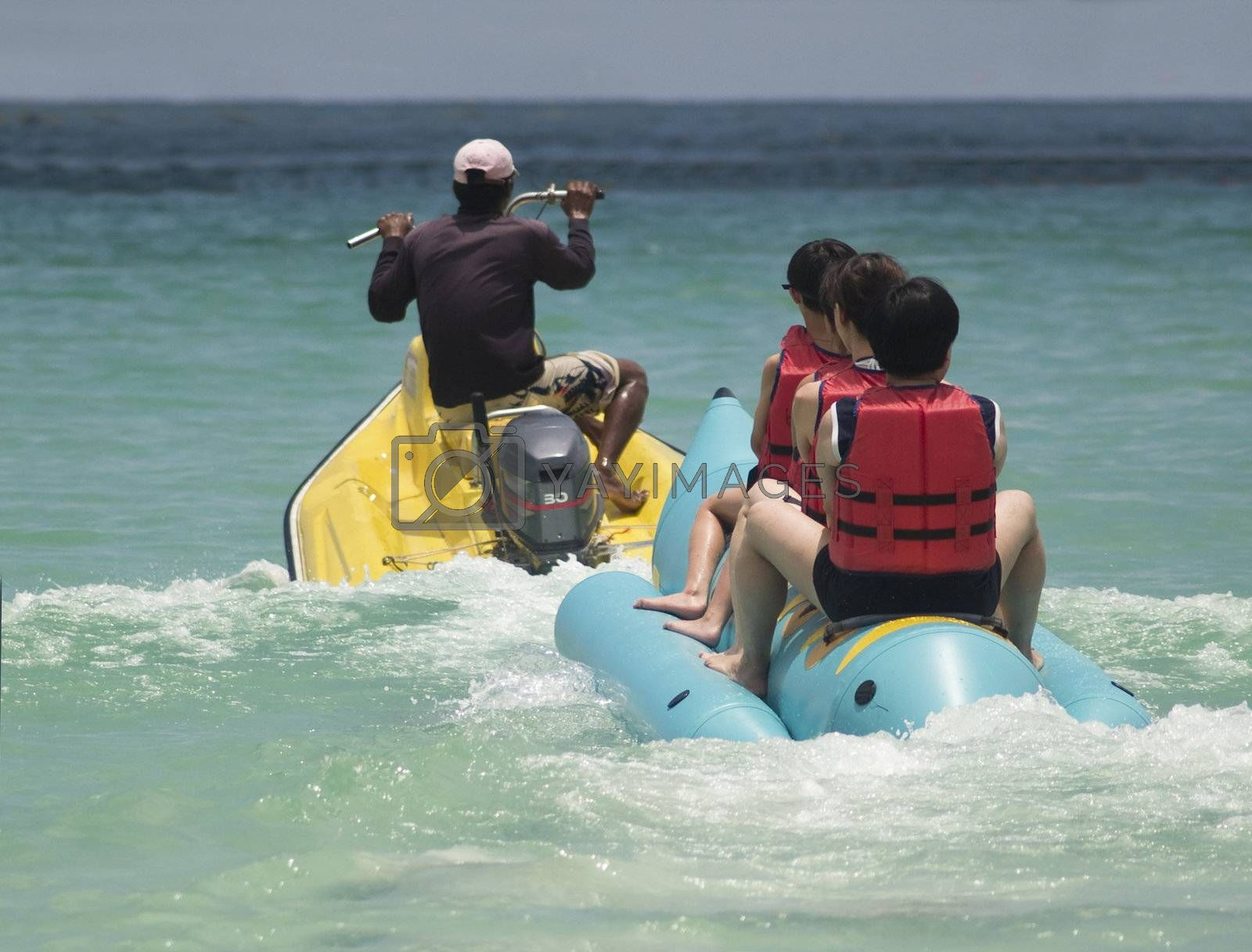 Banana boat and water scooter by epixx
