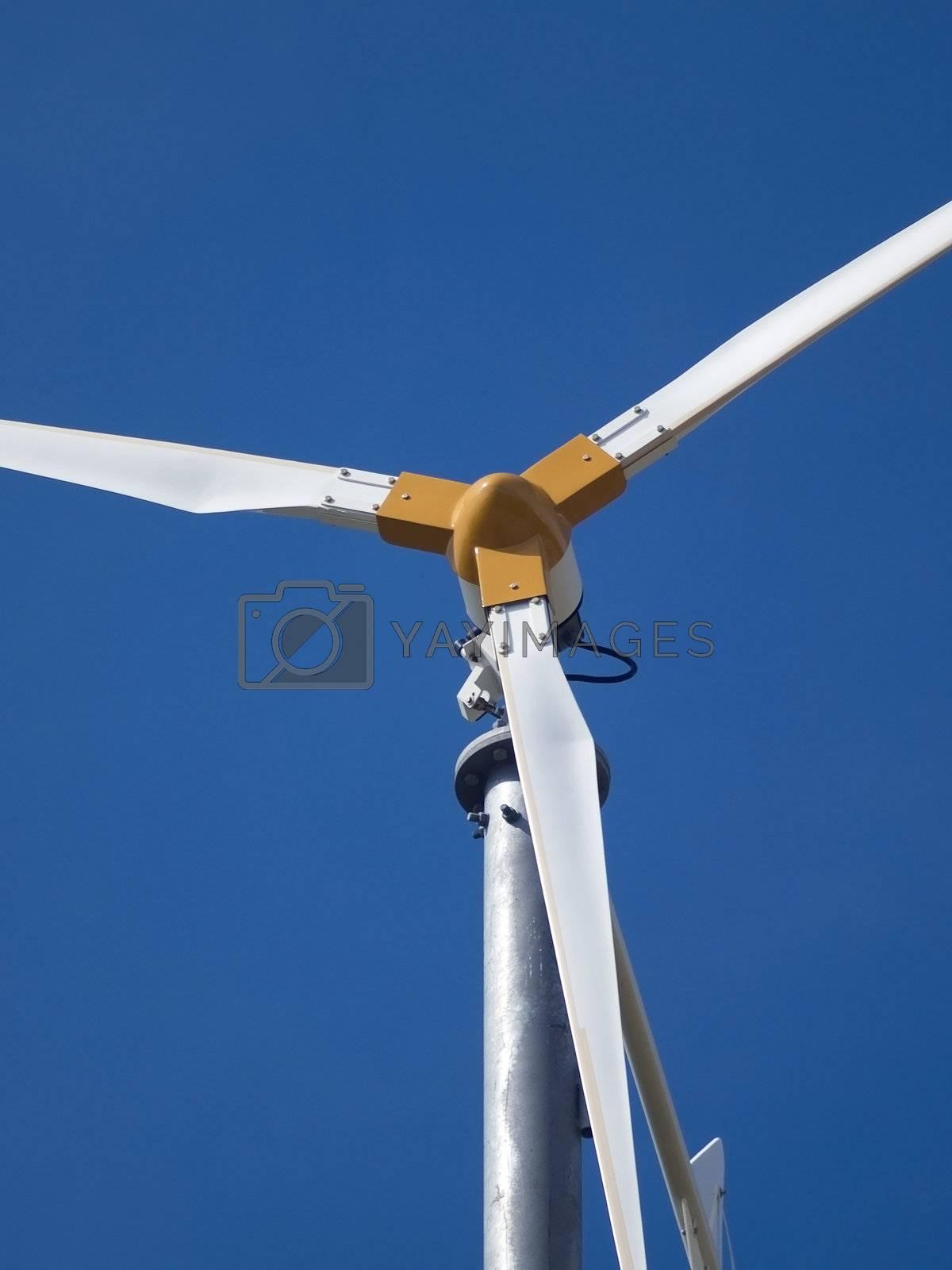 Detail of wind generator by epixx