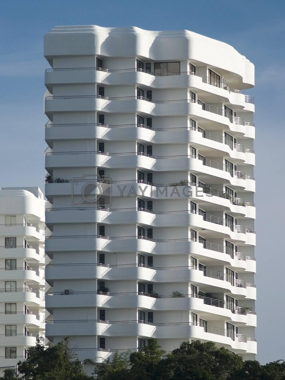Luxury apartment building by epixx