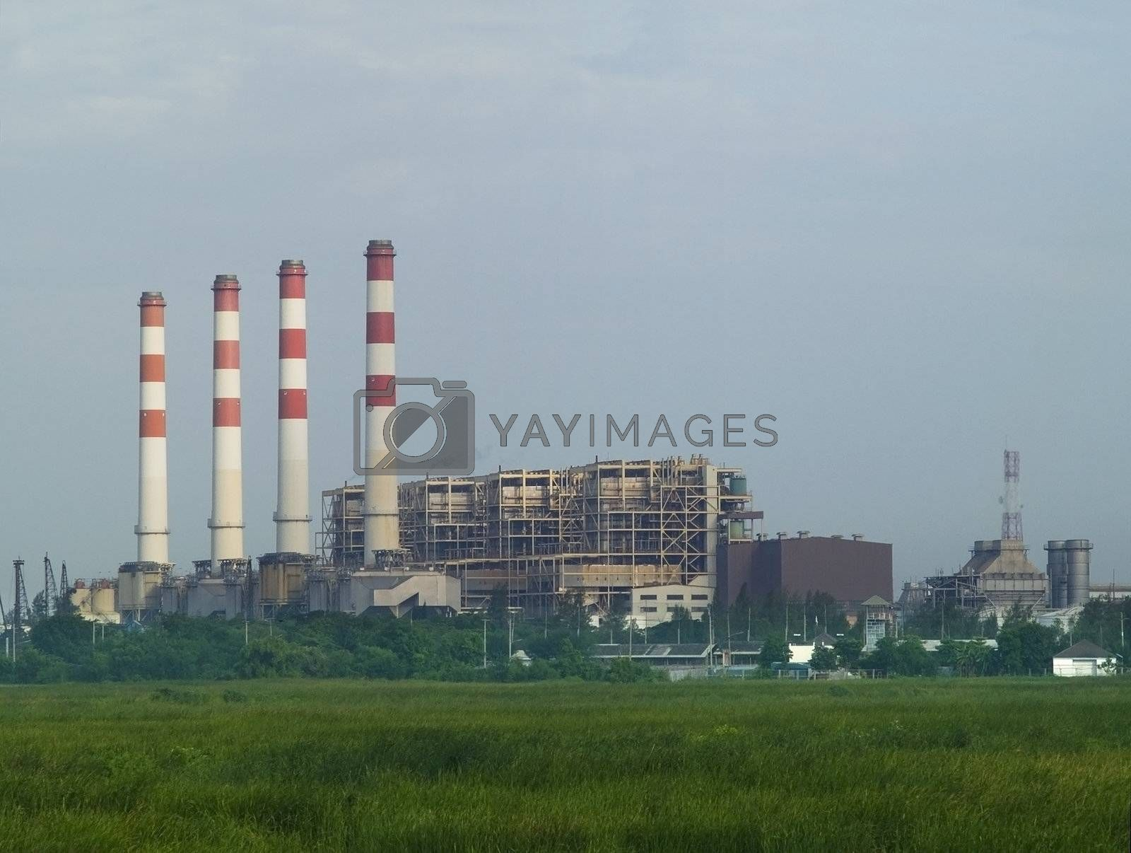 Gas driven power plant by epixx