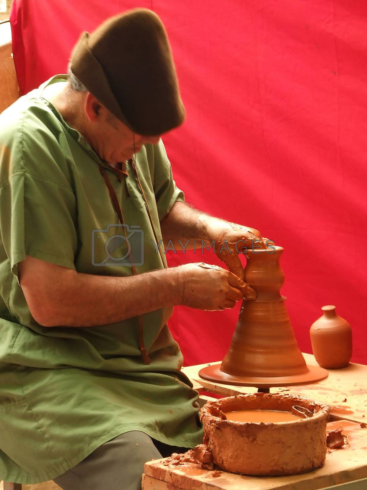 Pottery hands  by PauloResende