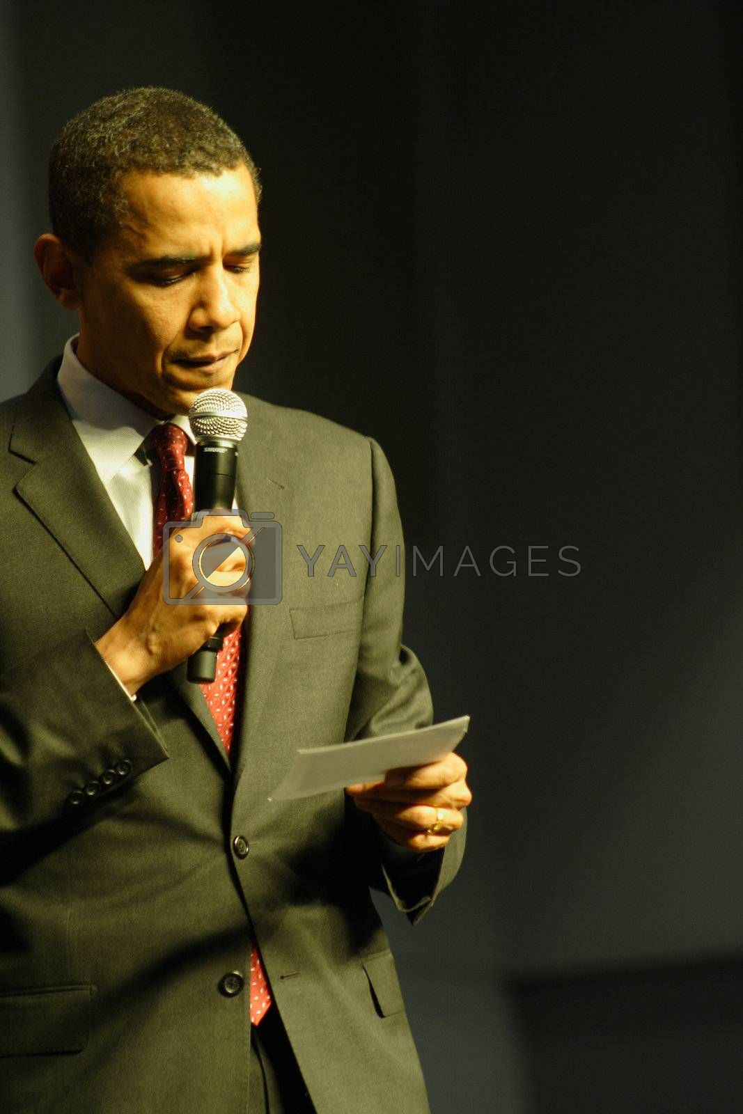 Barack Obama by dersankt
