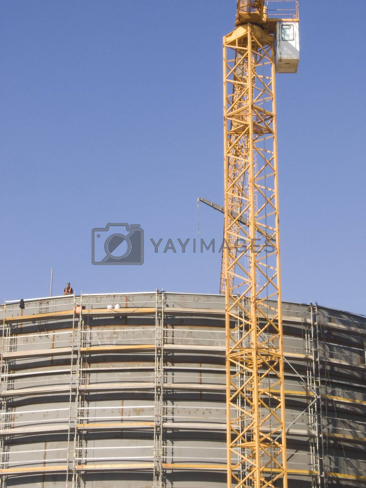 Constructing gas containers by PauloResende