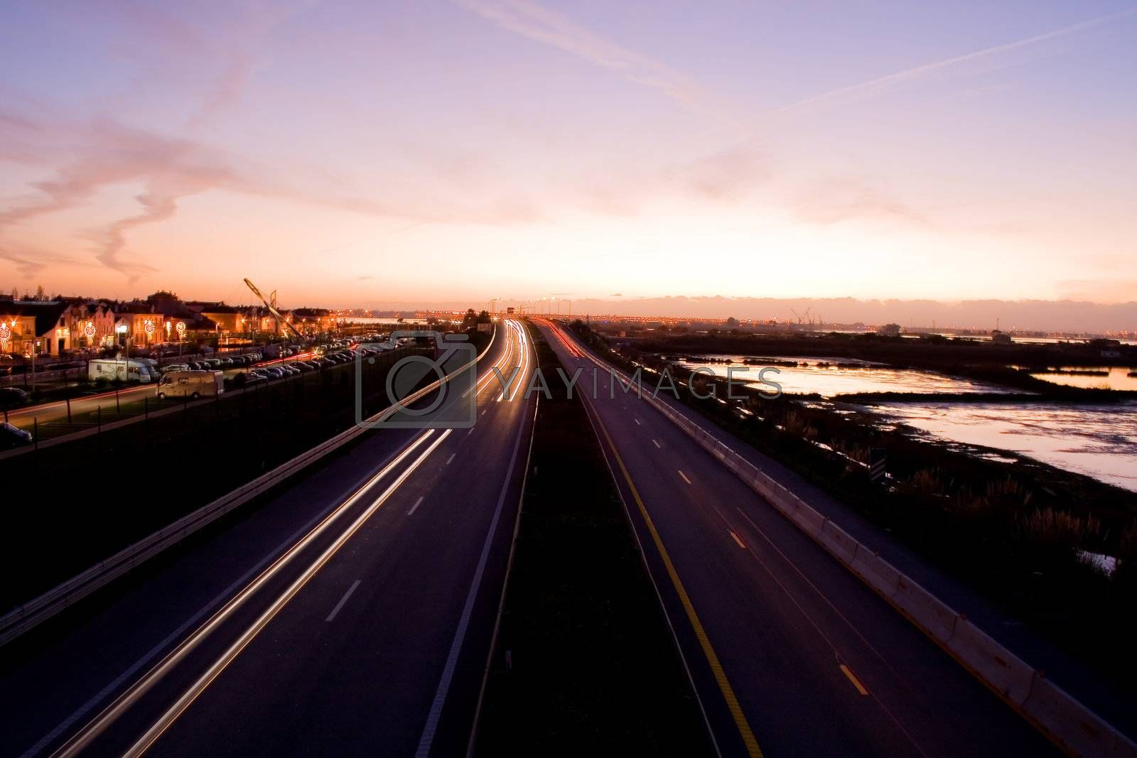 Highway road by PauloResende