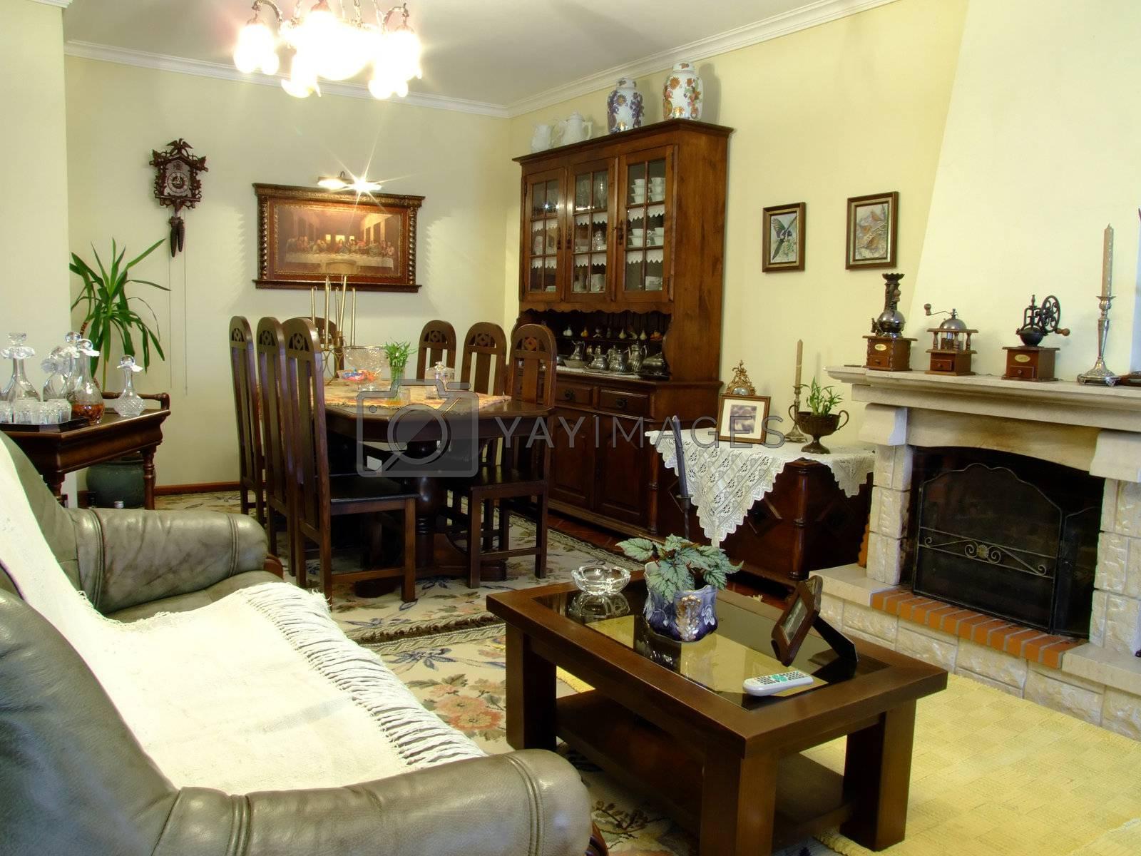 Luxury living room  by PauloResende