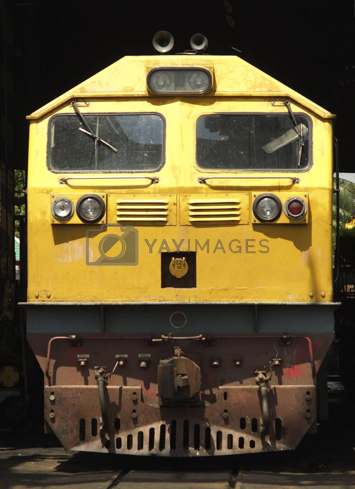 Diesel electric locomotive by epixx