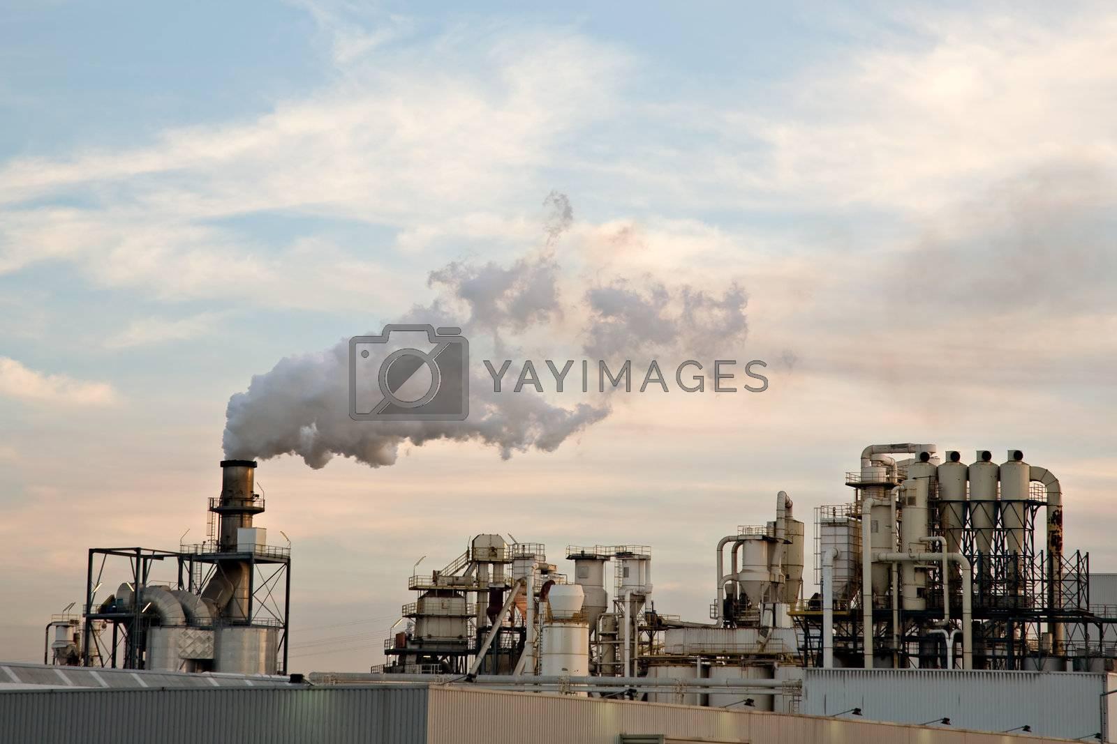 Oil Refinery by ajn