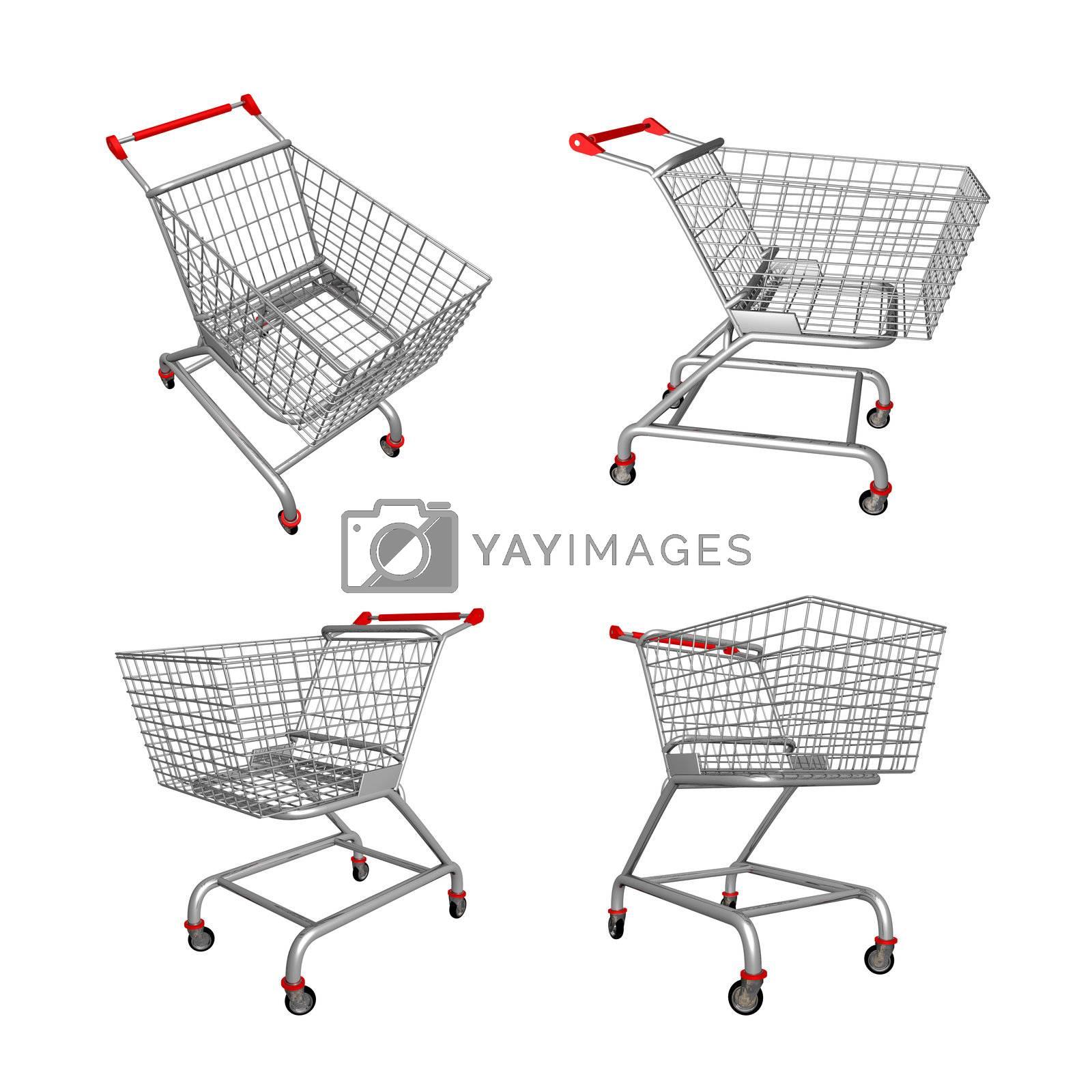 Shopping Cart by 3pod