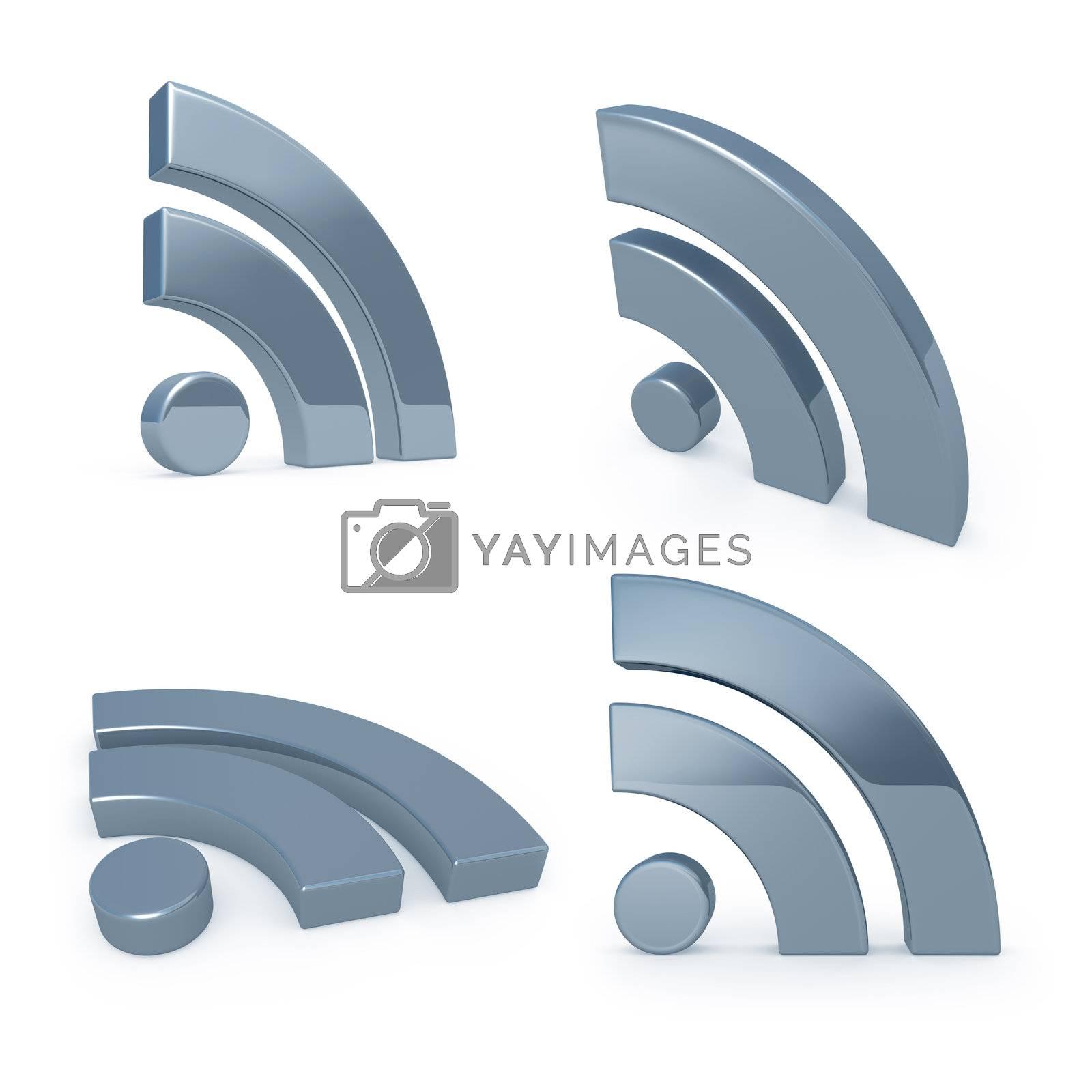 Blog Symbols by 3pod
