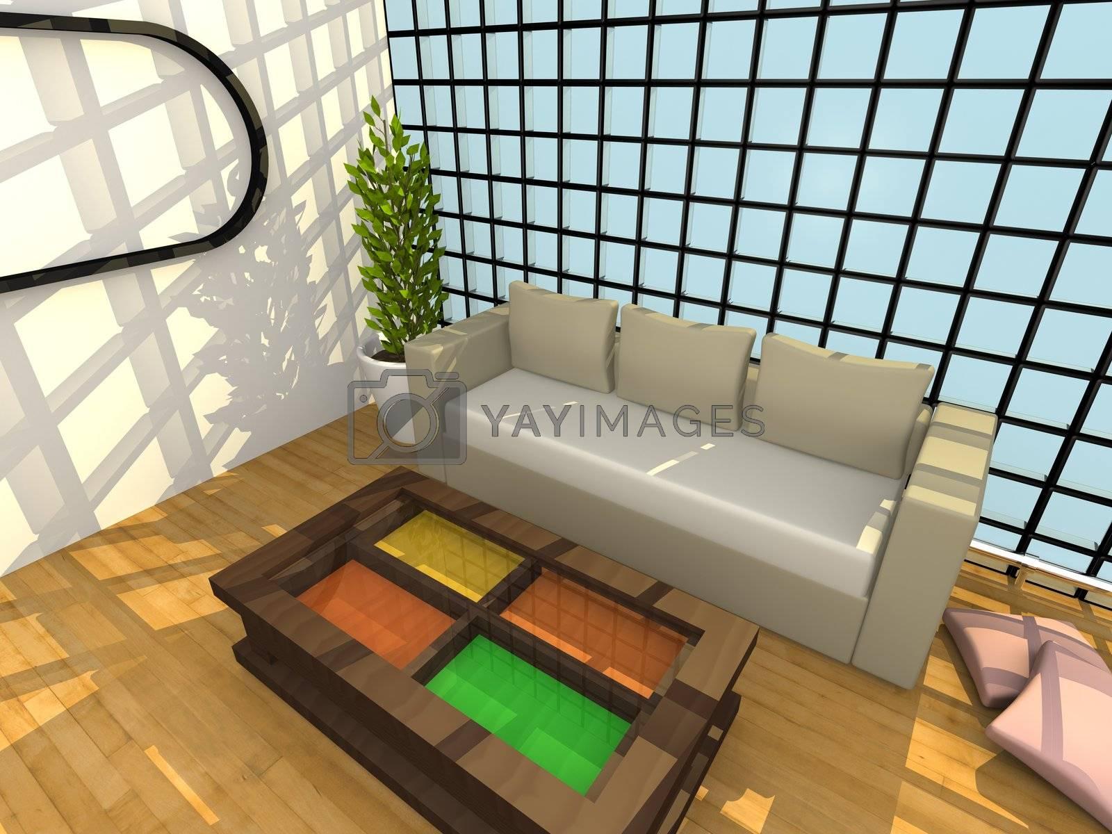 Modern Interior by 3pod