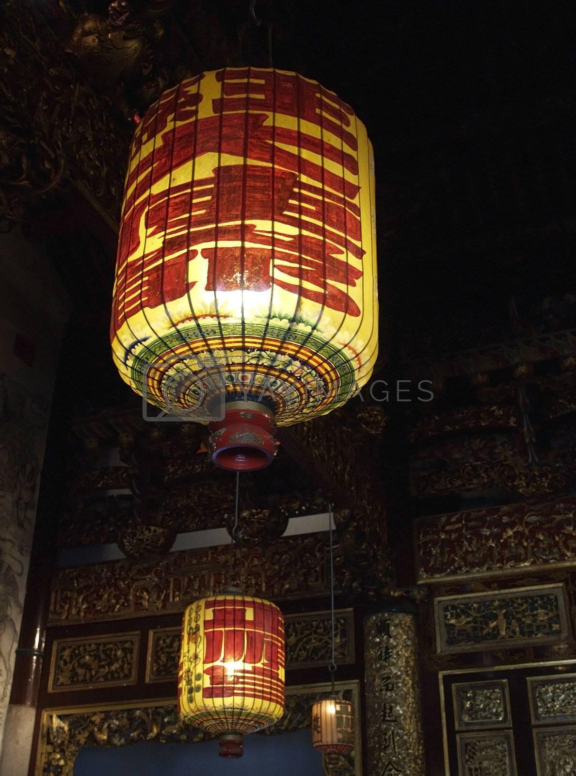 Chinese lanterns by epixx