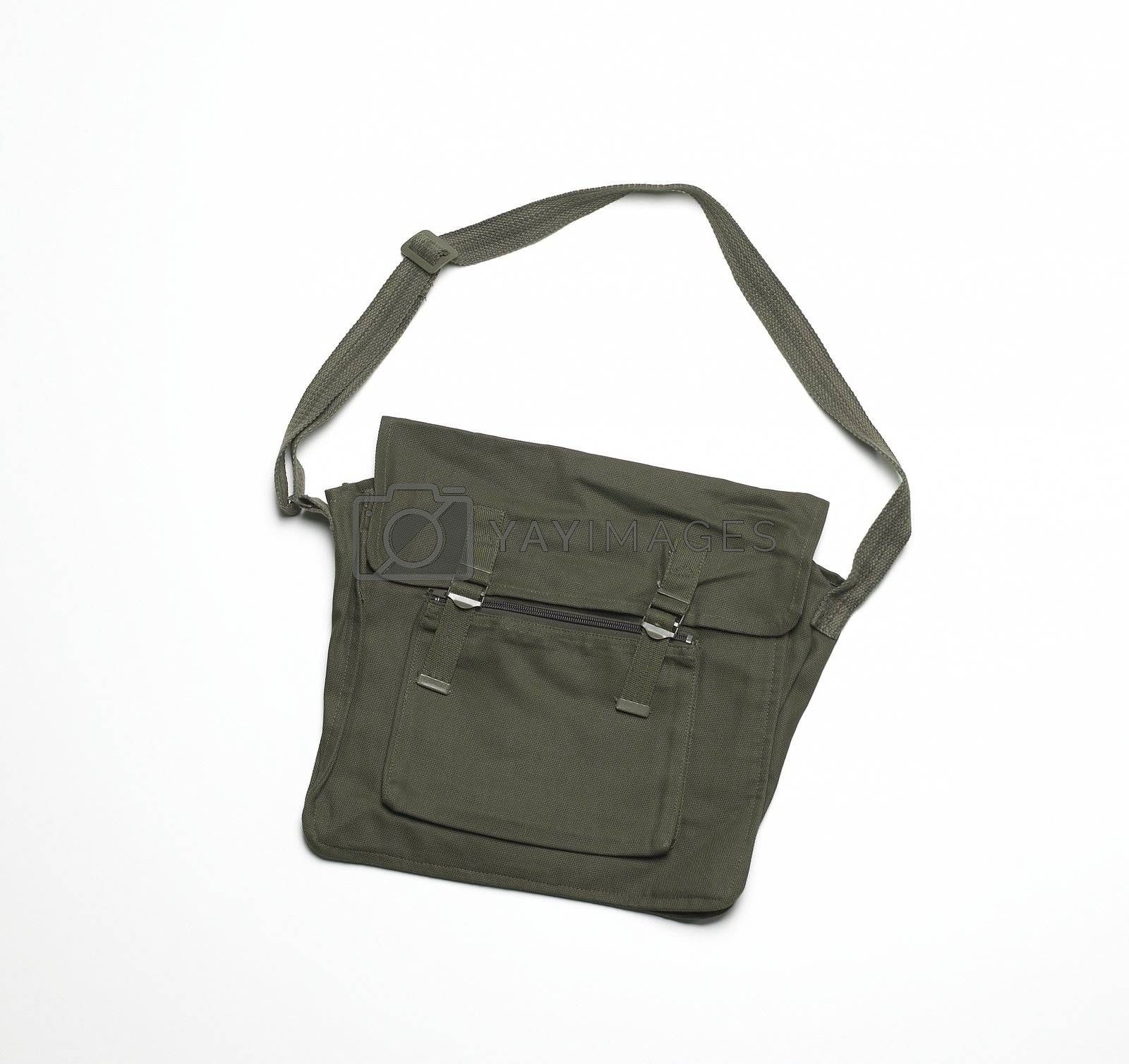 Messenger Bag isolated on white