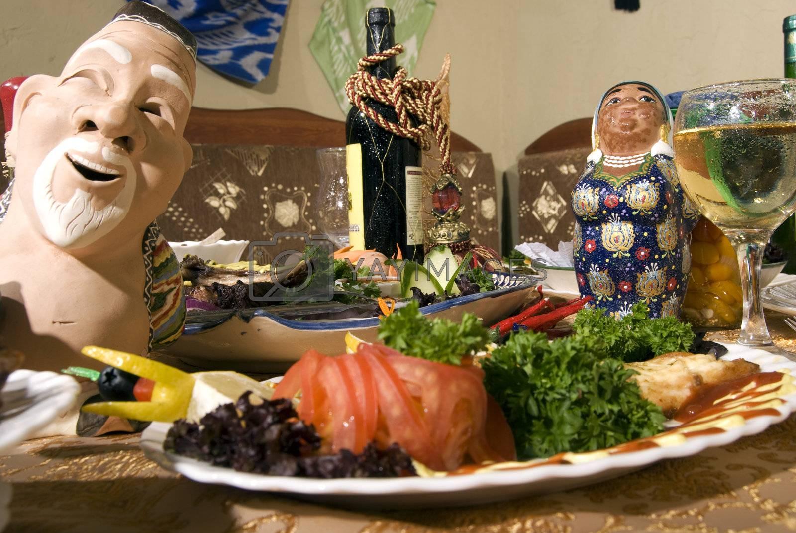 Festive table  by HASLOO