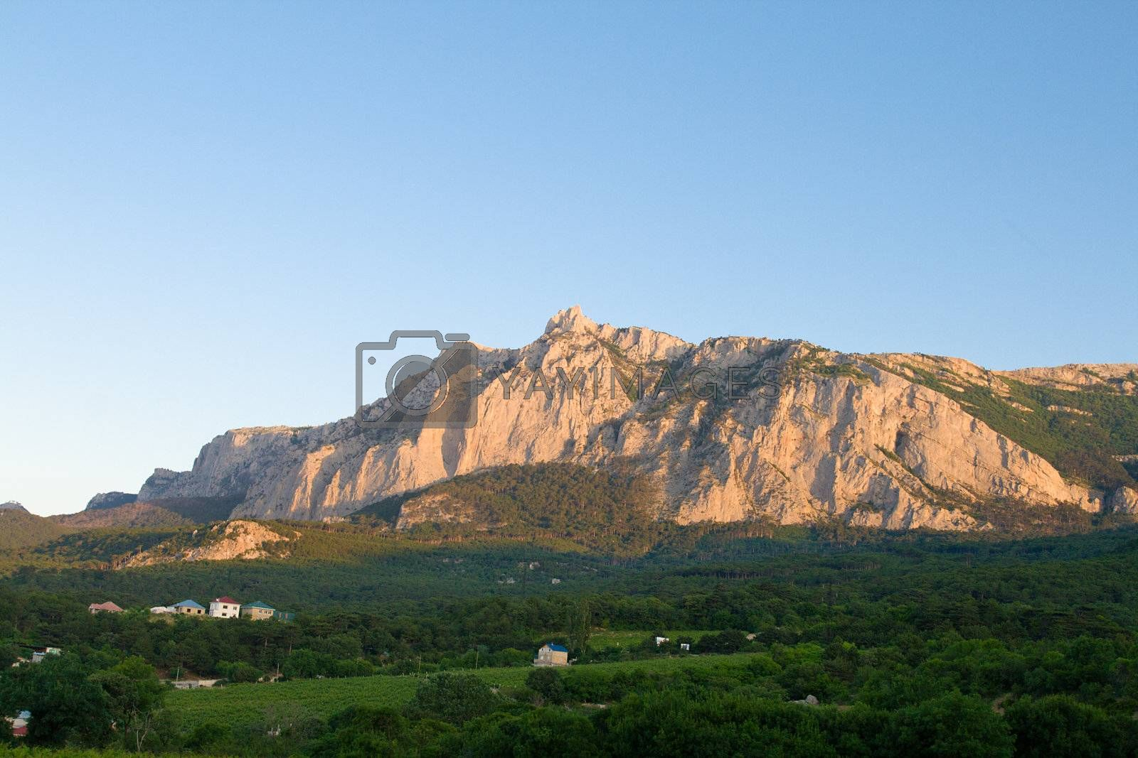 mountain landscape, Ai-Petri, Crimea