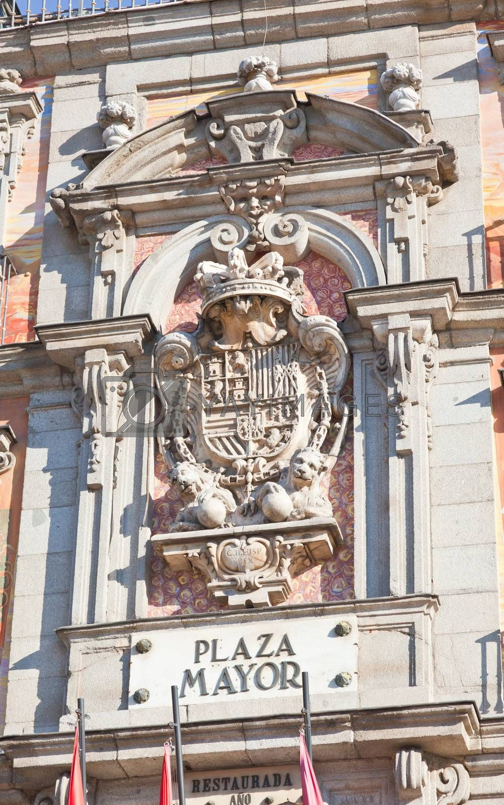 Royalty free image of The Plaza Mayor (Main Square) in Madrid by gary718