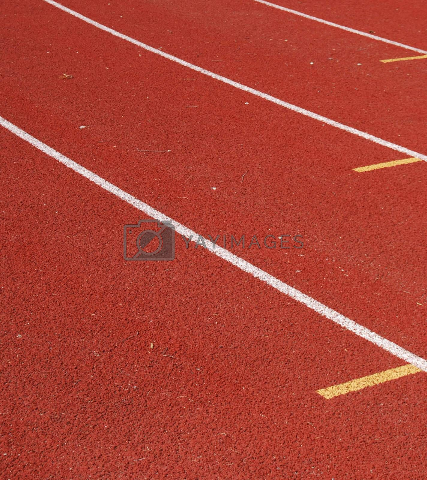 track and field by windmill