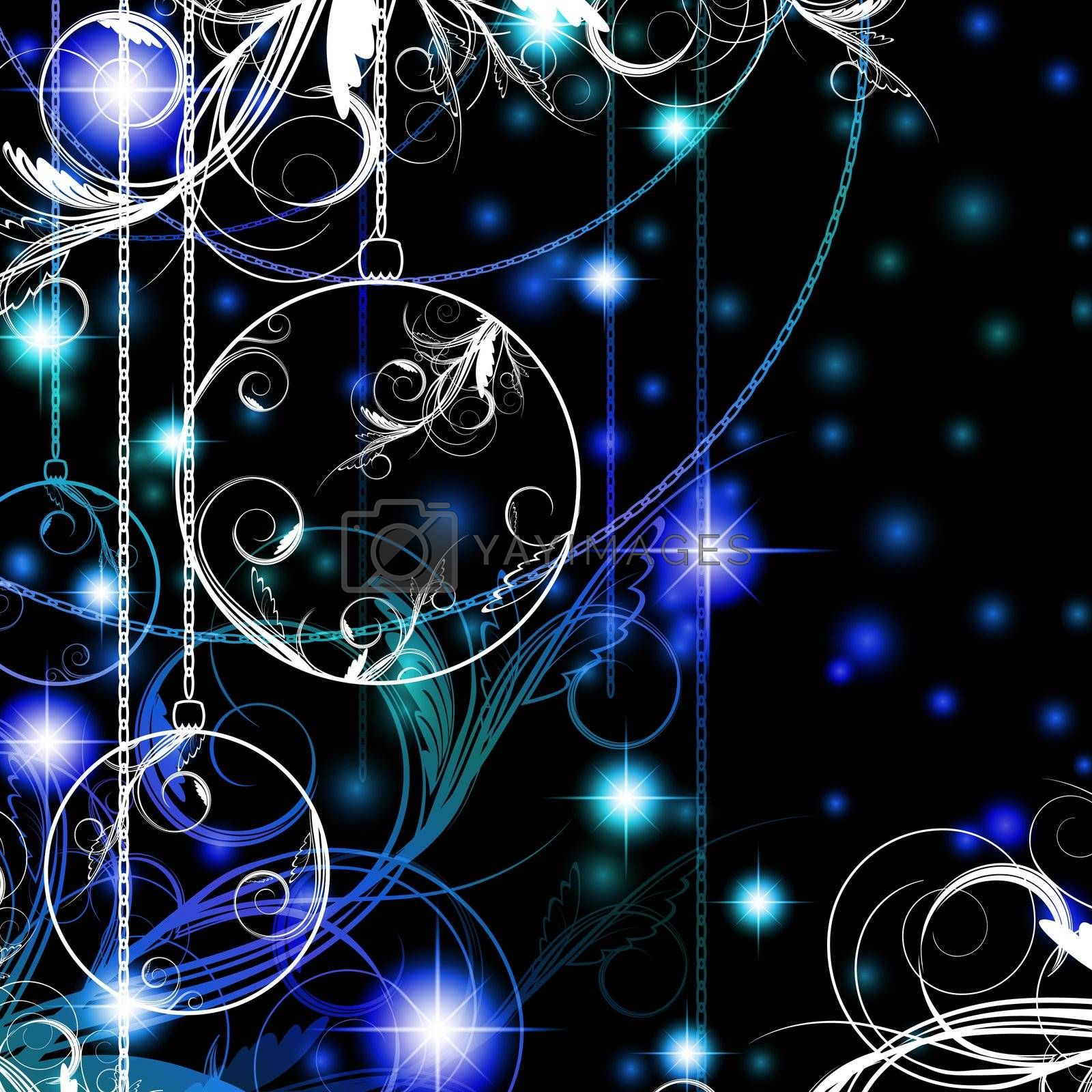 Royalty free image of New year and Christmas  by SNR
