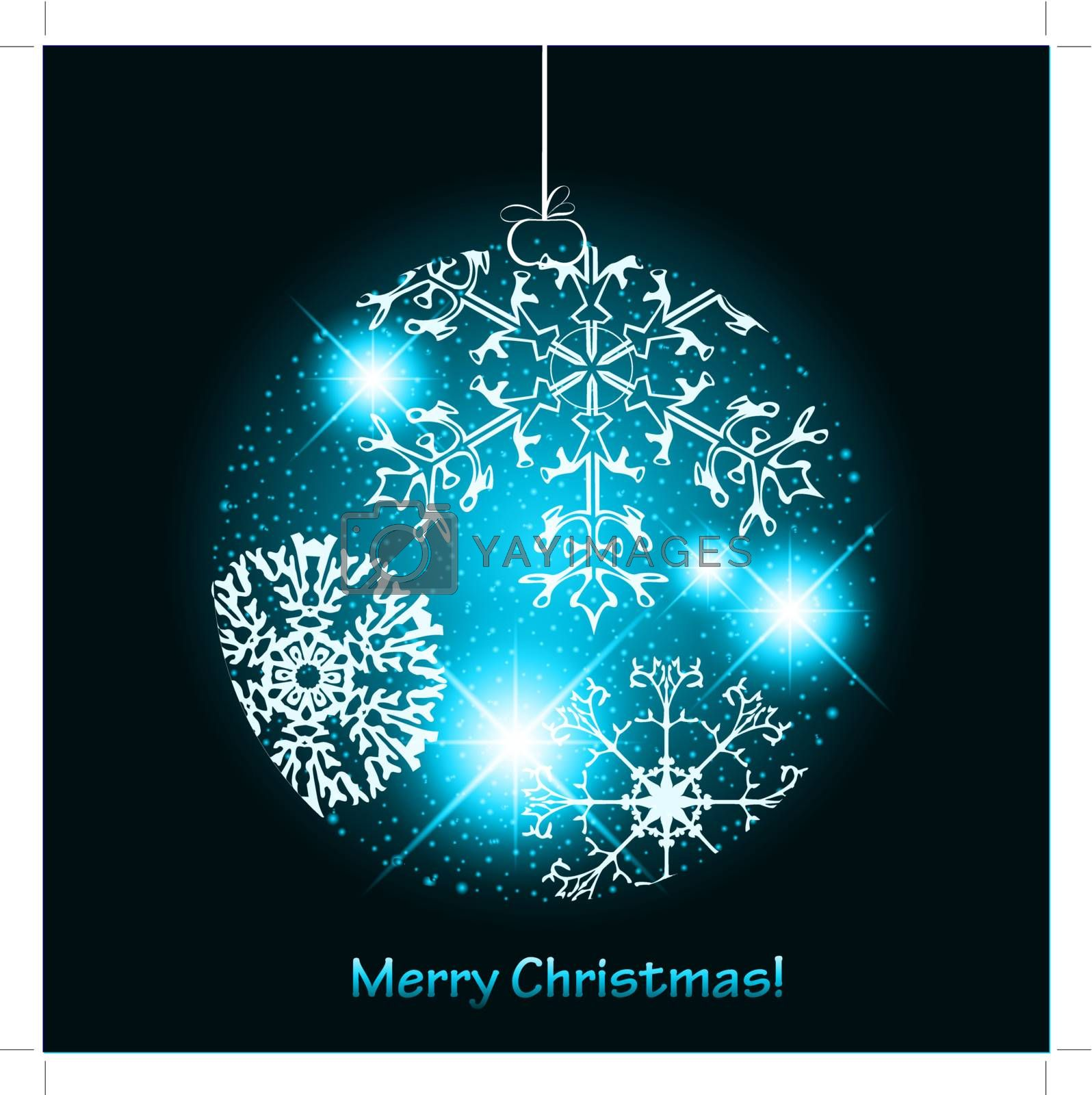 Royalty free image of Christmas ball by SNR