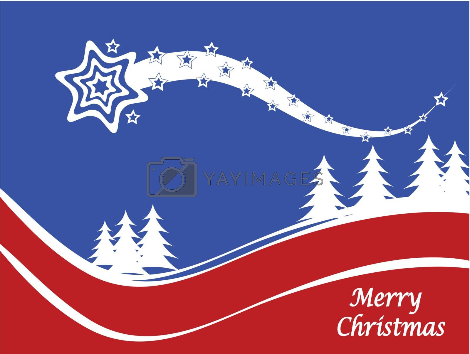 Royalty free image of Abstract winter vector scene by mhprice