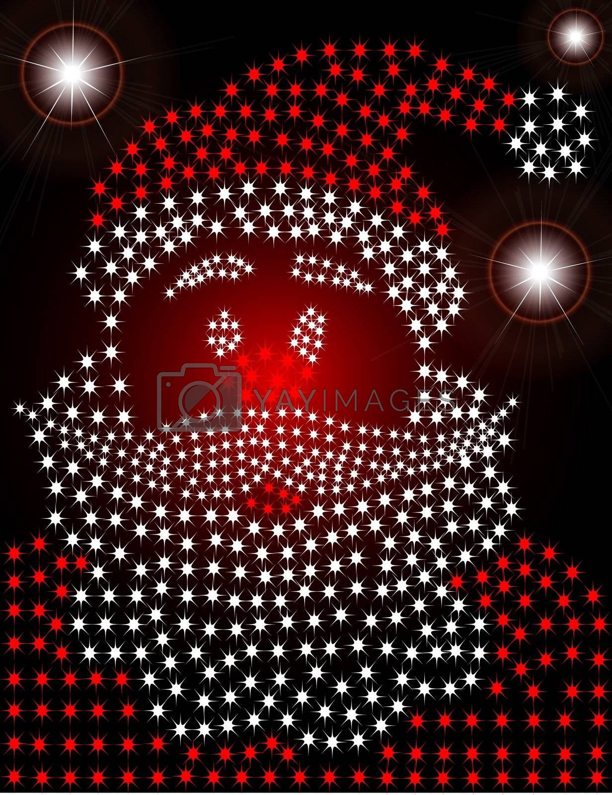 Royalty free image of Santa Claus by meletver
