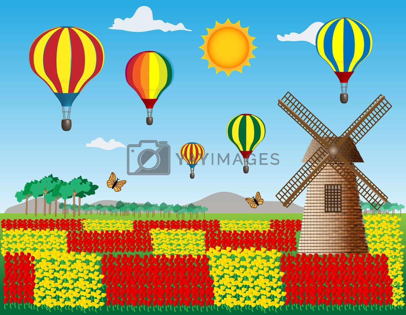 Royalty free image of Balloons by meletver
