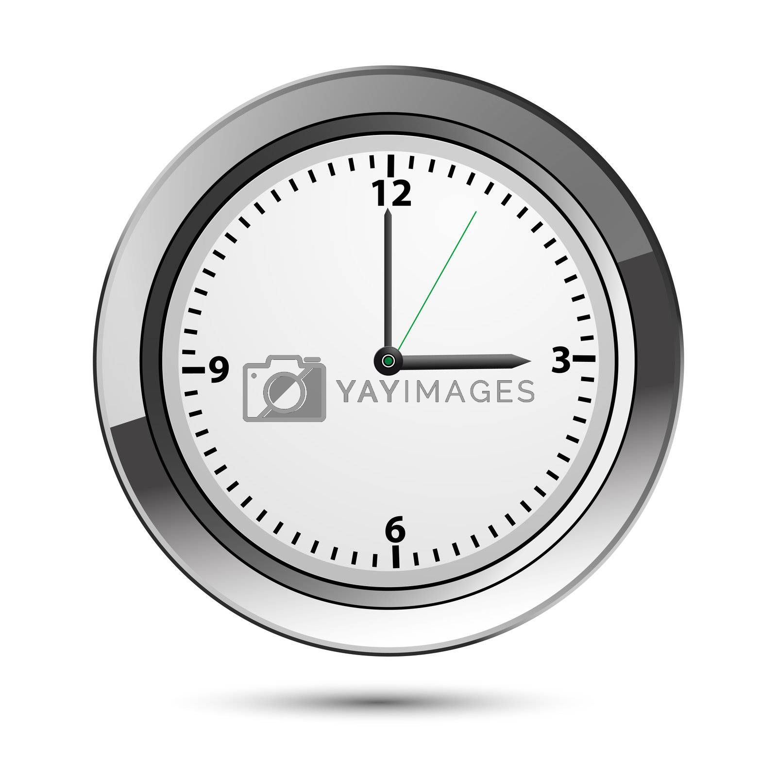 Royalty free image of classic watch by get4net
