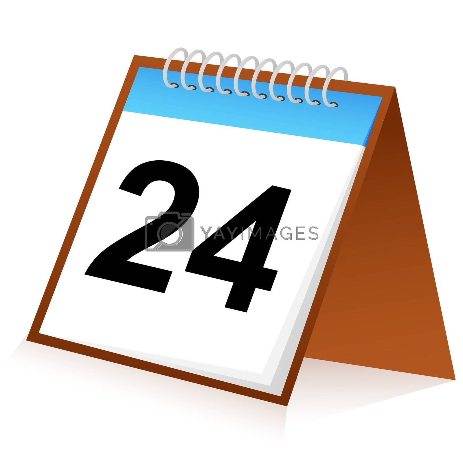 Royalty free image of calender sign by get4net