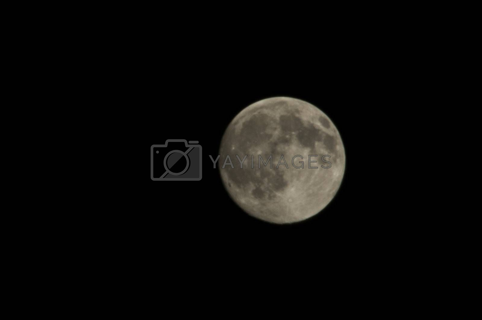 Royalty free image of Full Moon by thelongwayround