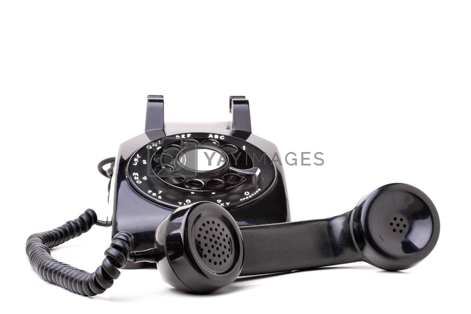 Royalty free image of Old Vintage Telephone by graficallyminded