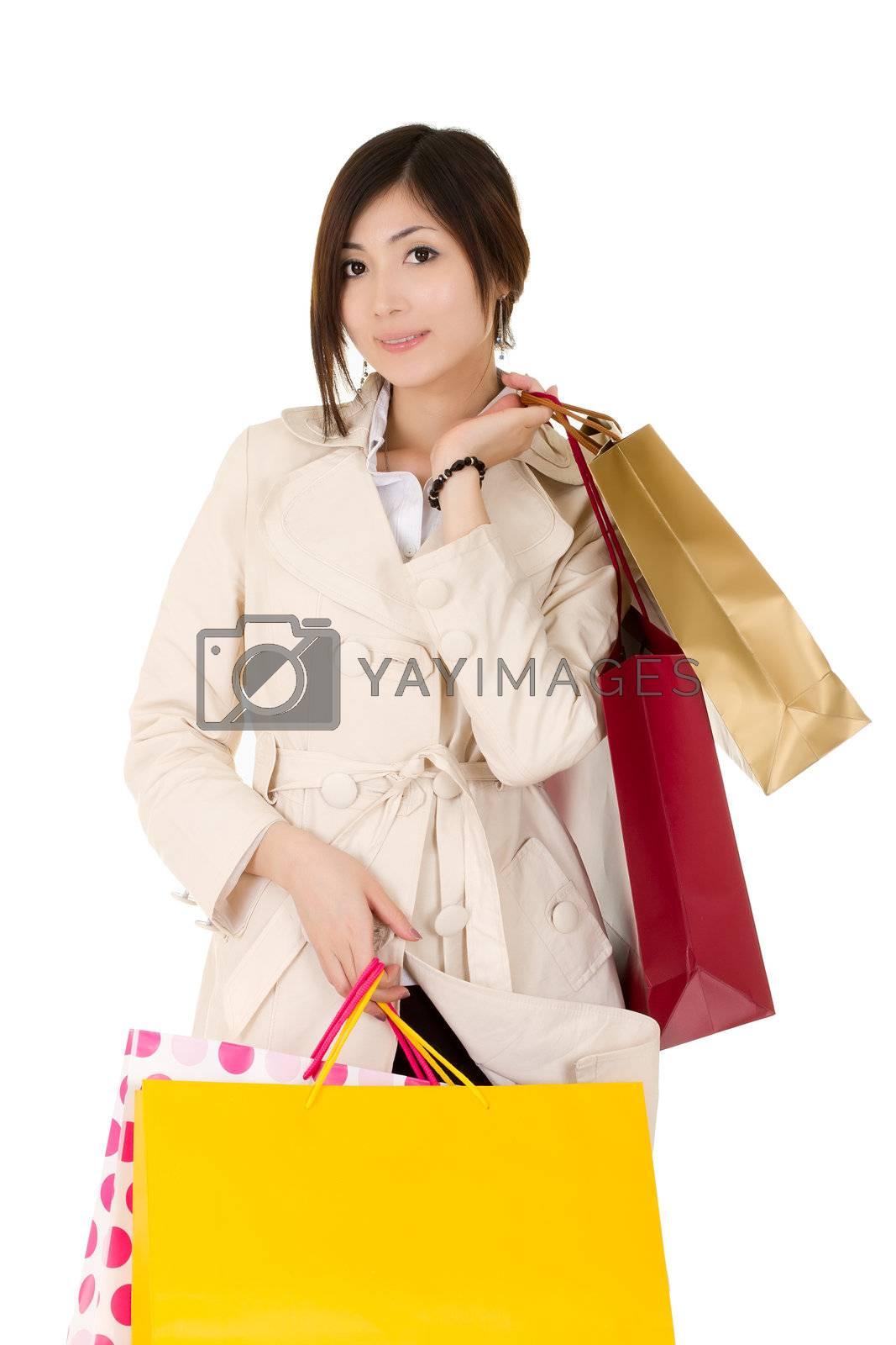 Royalty free image of shopping by elwynn