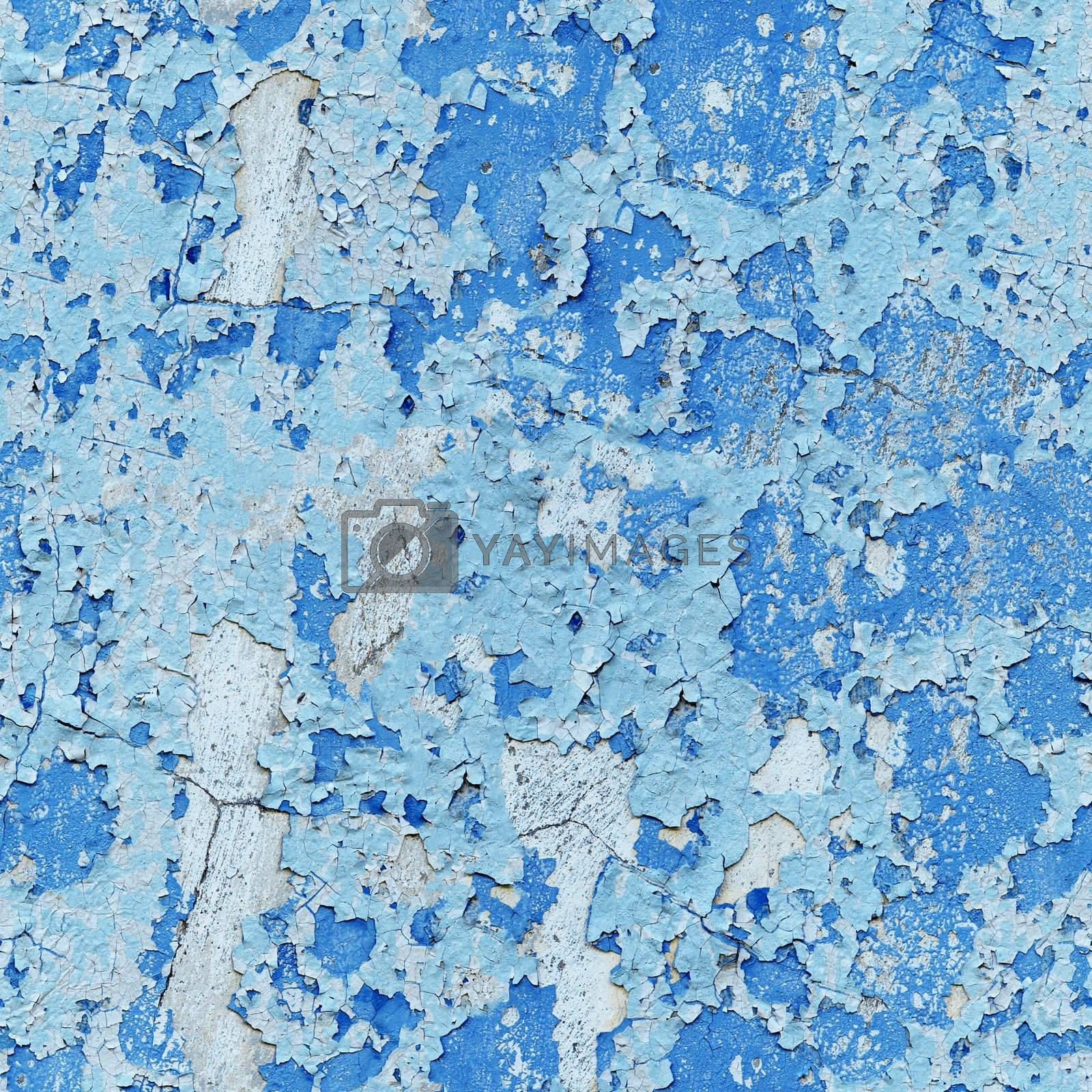 Royalty free image of Damaged paint on wall - seamless background by pzaxe