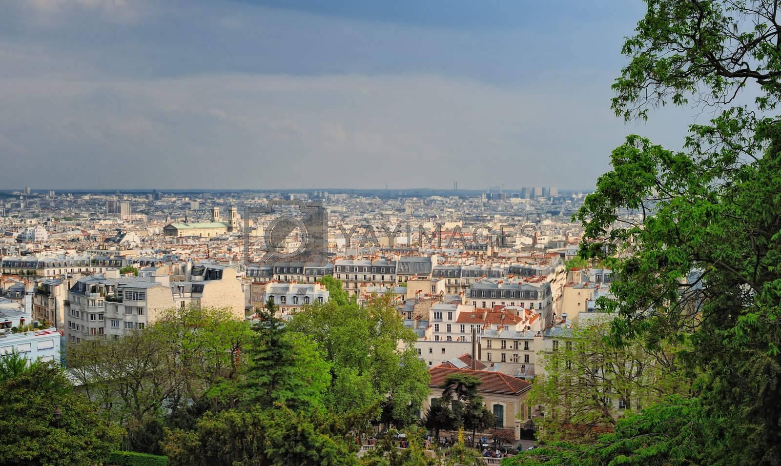 Royalty free image of Parisian cityscape by styf22