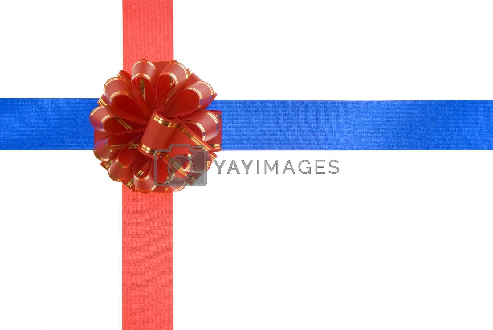 Royalty free image of gift ribbon by dabjola