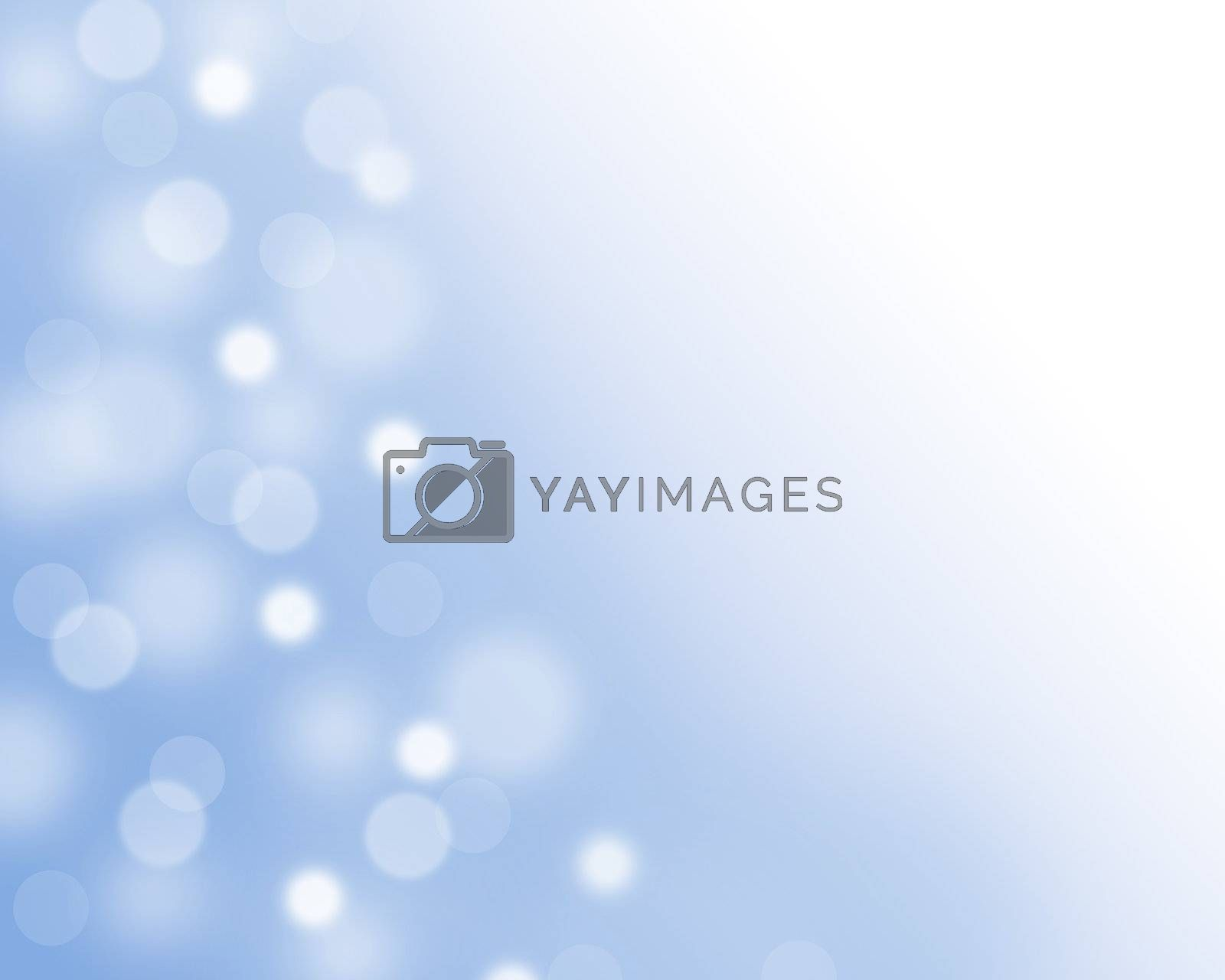blue light background close up