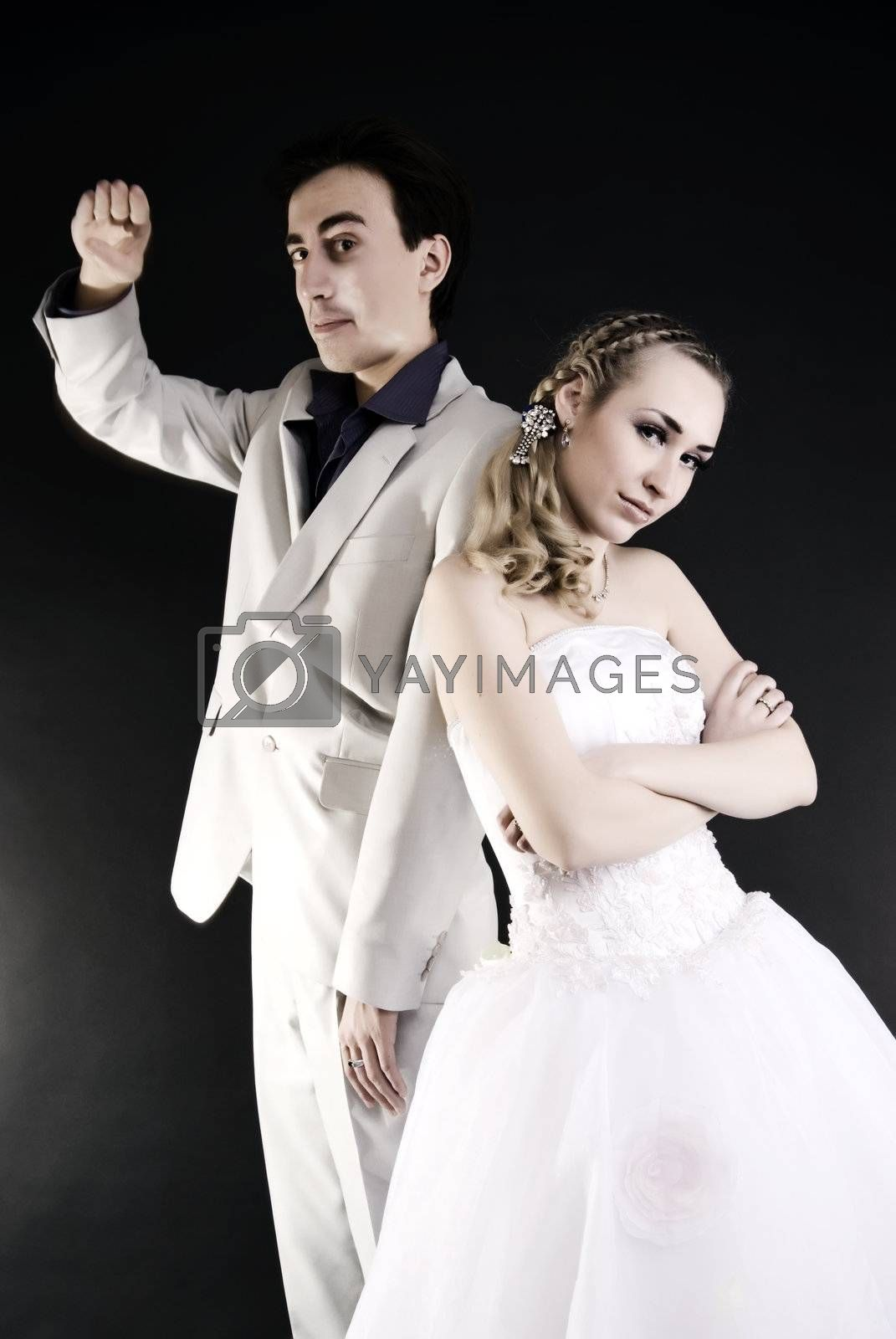 Royalty free image of Newly-weds   by HASLOO