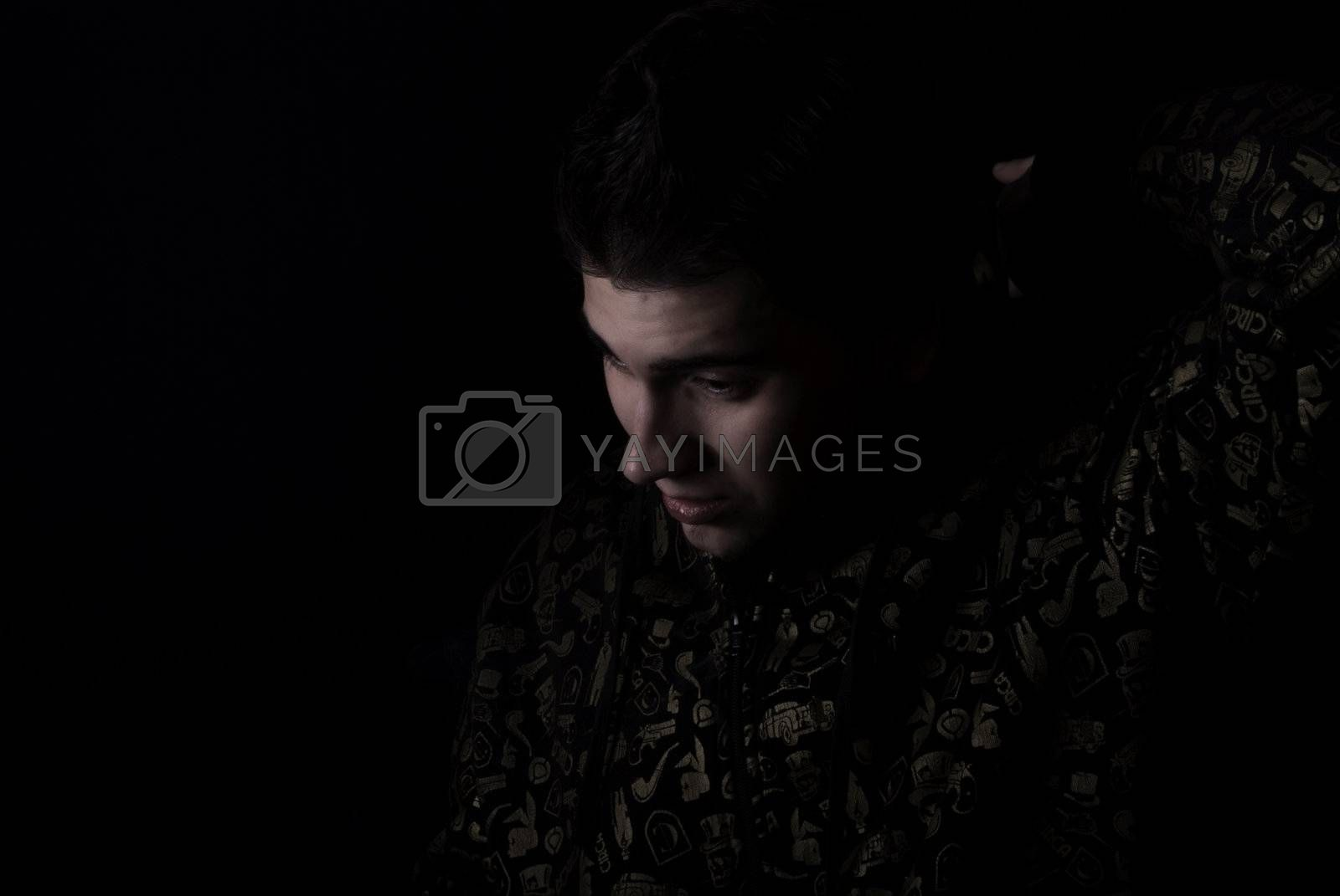 Royalty free image of Portrait of a young man      by HASLOO
