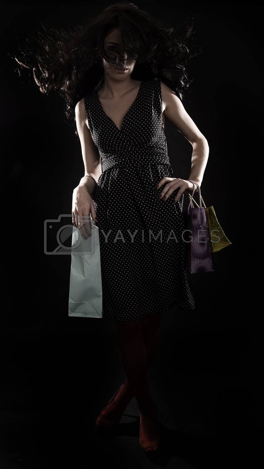 Royalty free image of go shopping by HASLOO