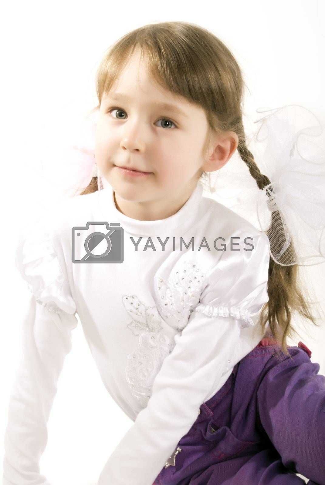 Royalty free image of Photo of a little girl   by HASLOO