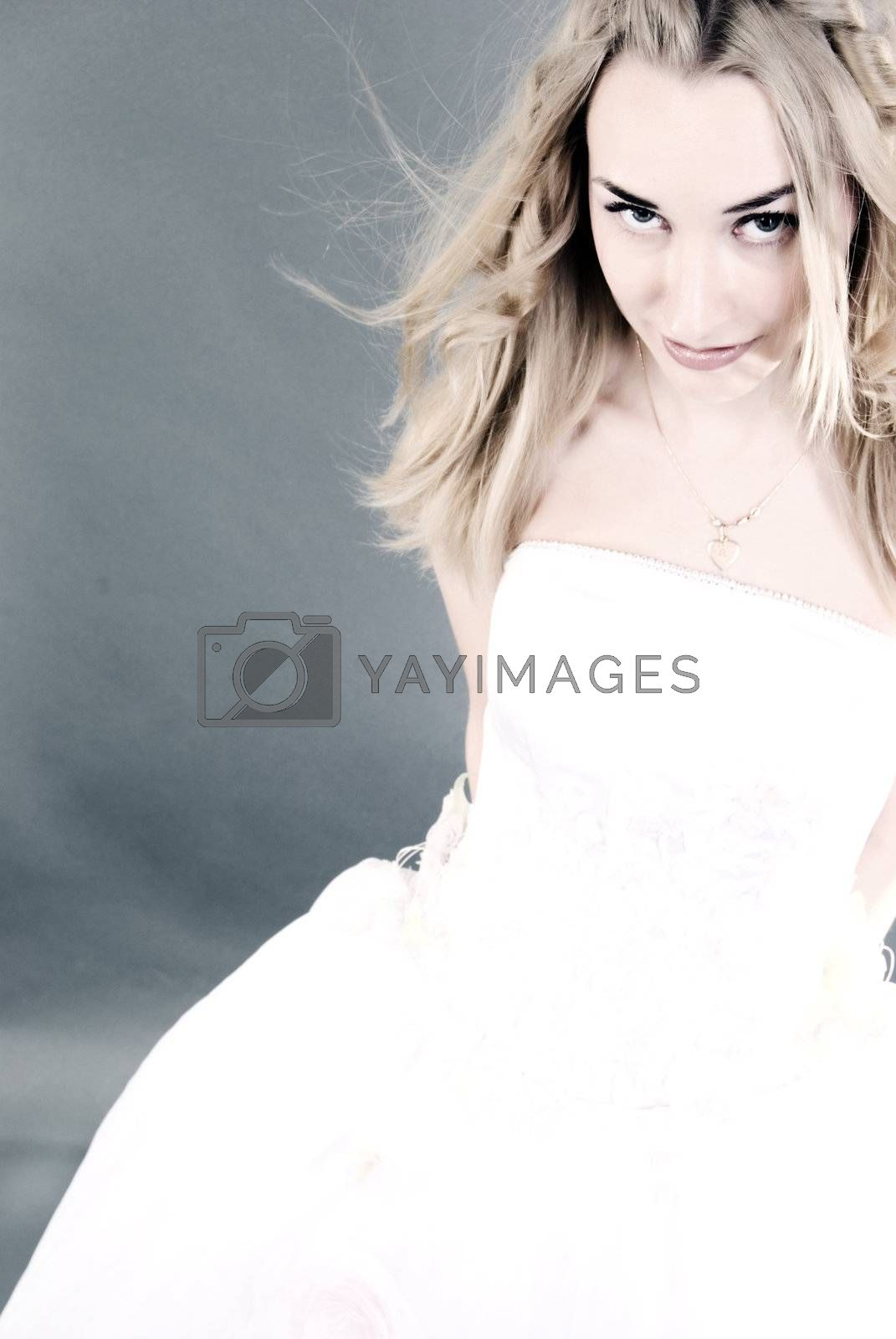 Royalty free image of Beautiful bride       by HASLOO