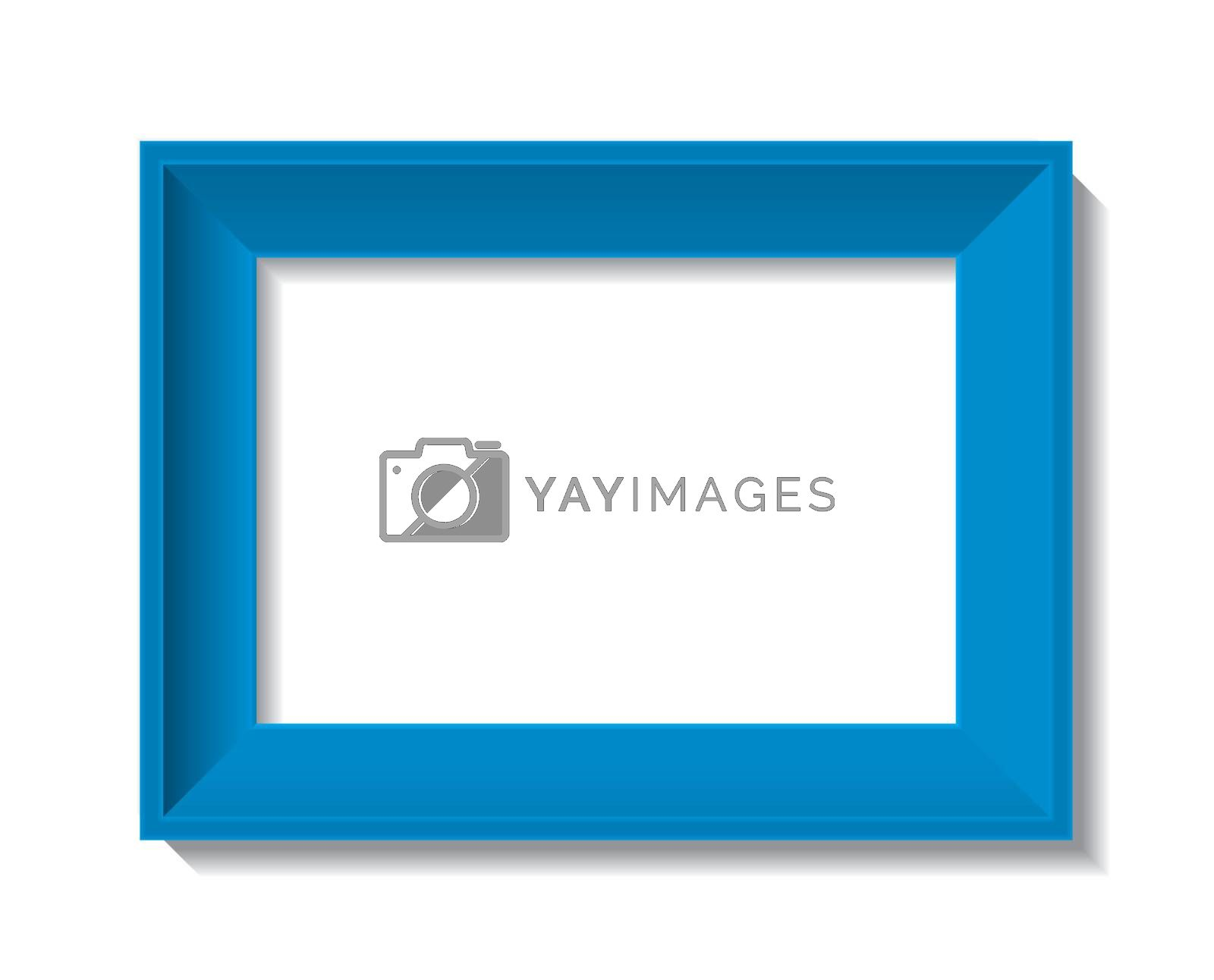 Royalty free image of empty photo frame - vector by ojal