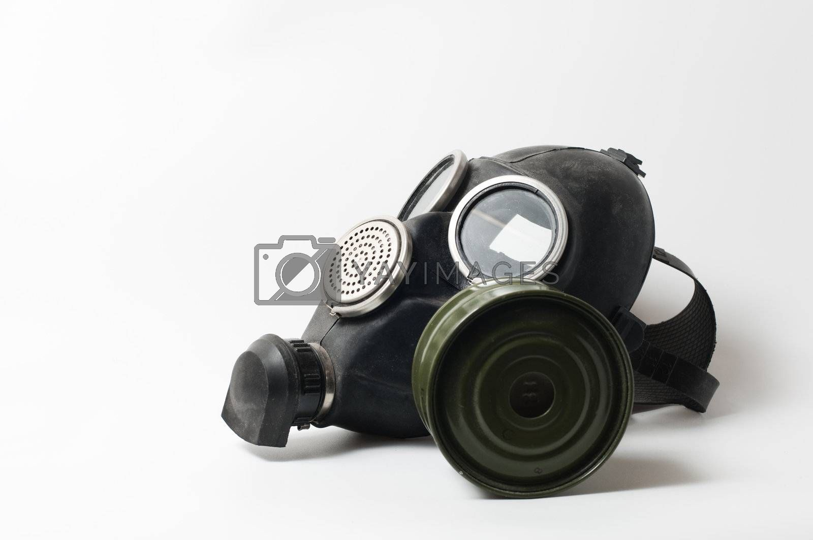 Royalty free image of gas mask by ksider