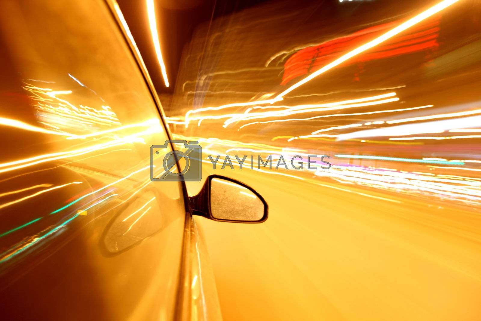 speed drive in night city